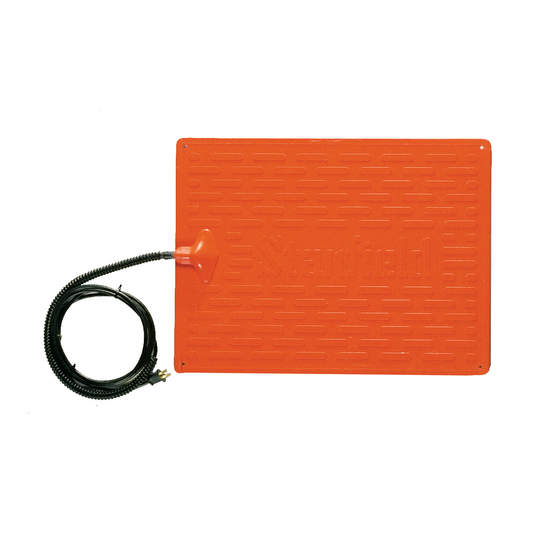 orange pet heat pad