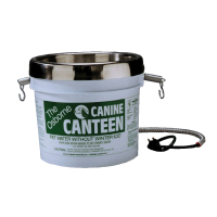Canine Canteen Pet Water Without Winter Ice