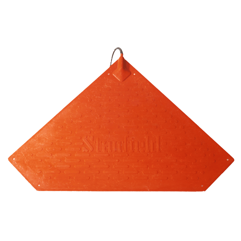 2.3x2.3x3.5 ft. Triangular Stanfield Heat Pad