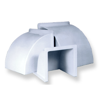 Kennel Ventilation System Hoods and Elbows