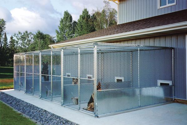 Tips for proper kennel ventilation installation for Dog boarding kennel designs